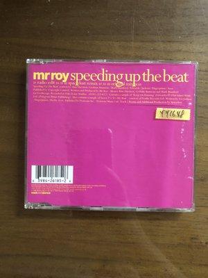 *還有唱片三館*MR ROY / SPEEDING UP THE BEAT 二手 YY1648 (需競標)