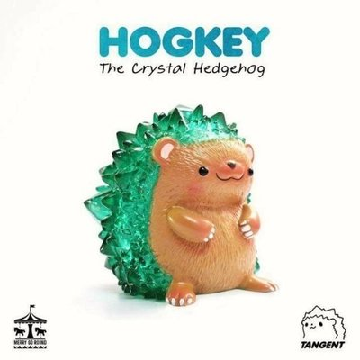 Tangent Hockey 綠水晶 刺蝟 泰國設計師
