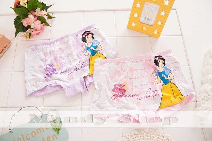 mandyshop【M2484】 ㊣ Disney 迪士尼公主萊卡兒童內褲 / 平口褲 -賠錢出清價$150