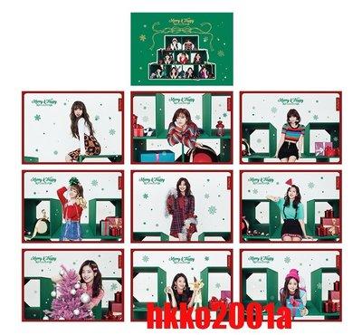 TWICE [ Merry & Happy 官方毛毯 ] (分團員, 隨機) -hkko2001a-送小卡Blanket
