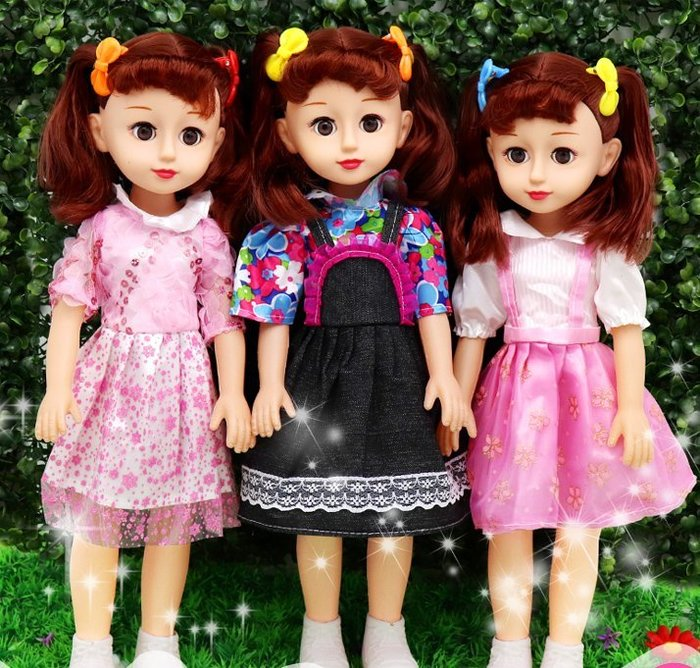 東大門平價鋪   會說話的智能洋娃娃 玩具 ,嬰兒童小女孩仿真公主套裝