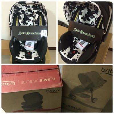 美國 Britax 2015 B-Agile 3 & B-Safe35 座椅 推車 乳牛色 Cowmooflage 兒童
