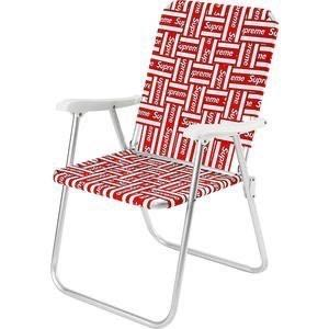 Supreme 20SS Lawn Chair 紅色 躺椅 椅子 摺疊椅