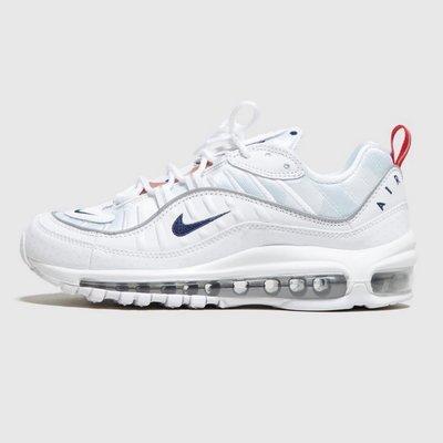 R'代購 Nike Air Max 98 Premium Unite Totale 波爾卡圓點 白紅藍玫瑰金 法國巴黎 CI9105-100 女