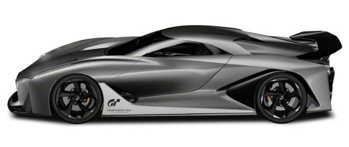 台中電玩小舖~Nissan Concept 2020 Vision Gran Turismo 特殊設計 1/43汽車模型
