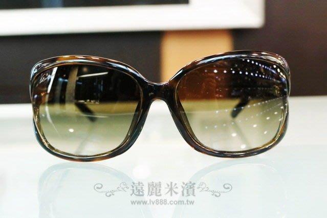 【遠麗】台北大安店~A8151 gucci 玳帽色 膠框 咖啡面 竹節 太陽眼鏡 真品/正品