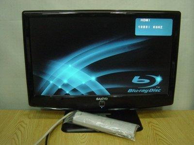 保固3個月【小劉二手家電】SANYO 20吋HDMI液晶電視,SMT-20HU3型,附萬用遙控器