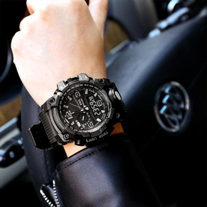 【免運費】電子錶男學生數字式戶外運動防水夜光男生手錶QD3C-Y297