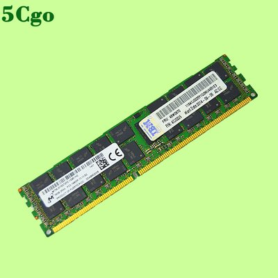 5Cgo【含稅】三星16G DDR3 ECC REG伺服器內存PC3 1066 1333 1600 1866頻率記憶體