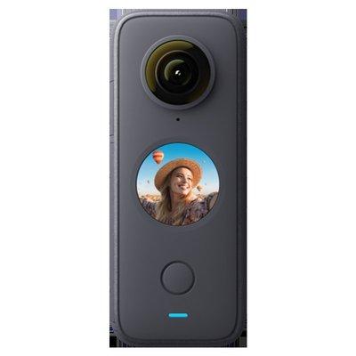小智貨鋪攝影機Insta360 ONE X2二代全景運動相機 5.7K高清超強防抖Vlog攝像機騎行滑雪裸機防水 onex2 騎行專業套餐