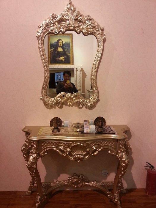 古典歐式玄關桌民宿