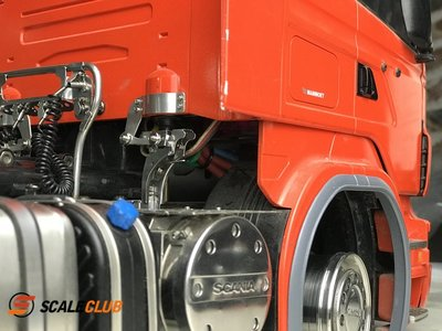 【喵喵模型坊】SCALECLUB 1/14 SCANIA R系列卡車用 車殼駕駛室 固定扣 (CTK-SC-1)