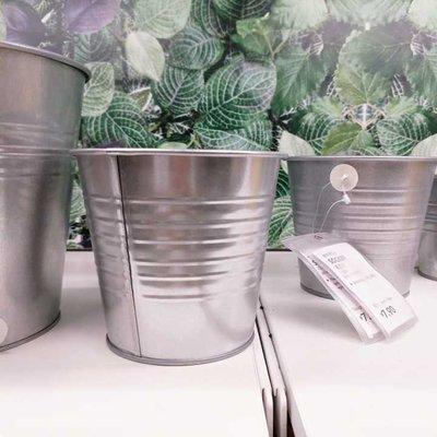 IKEA宜家家居國內代購彬且裝飾用花盆電鍍創意桌面迷你小型花籃