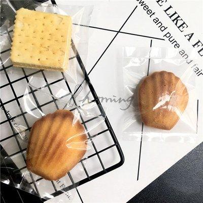 【homing】(7 X 9.5cm)空白無印刷亮面全透明烘焙點心西點包裝袋/餅乾袋/甜點袋/糖果袋/牛軋餅/雪Q餅