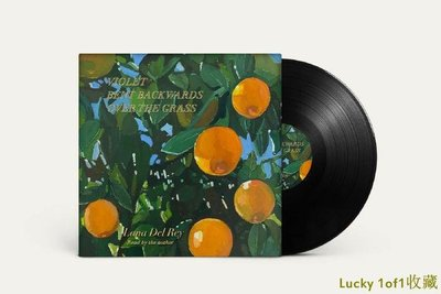 Lucky 1of1收藏Lana Del Rey Violet Bent Backwards Over The Grass 黑膠 LP