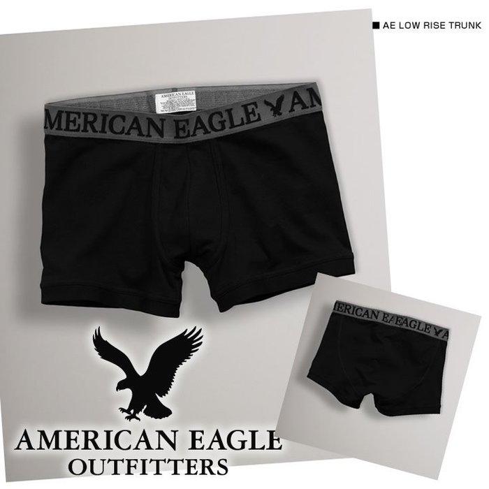 (BJGO) AMERICAN EAGLE_AE Solid Low Rise 美國AE老鷹Logo標誌四角平口褲/內褲