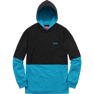 (TORRENT) 2016 秋冬 Supreme Hooded 2-Tone Top 黑.卡其 M.L.XL