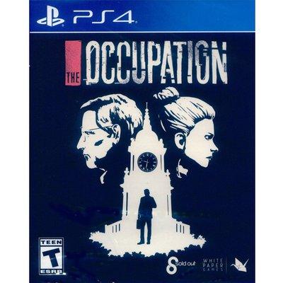 (現貨全新) PS4 職業使命 英文美版 The Occupation