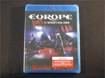 [藍光BD] - 歐洲合唱團 : 倫敦演唱會 Europe : Live at Shepherd s Bush London BD-50G