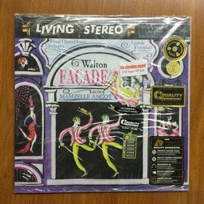 詩軒音像AP RCA LSC2285 Walton:Facade 沃爾頓:門面 芭蕾音樂 LP黑膠唱片-dp05
