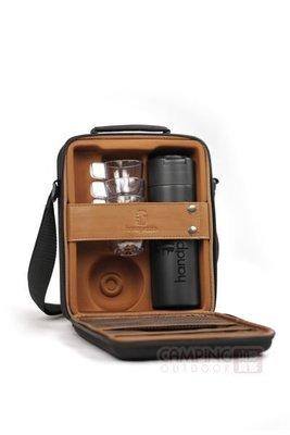 【山野賣客】法國Handpresso Pump Case豪華外出攜帶包 咖啡隨行吧/攜帶式濃縮咖啡機配件