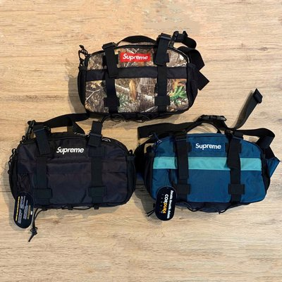 【MASS】2019 F/W SUPREME 47th Waist Bag 腰包 叢林/黑/綠/粉紅
