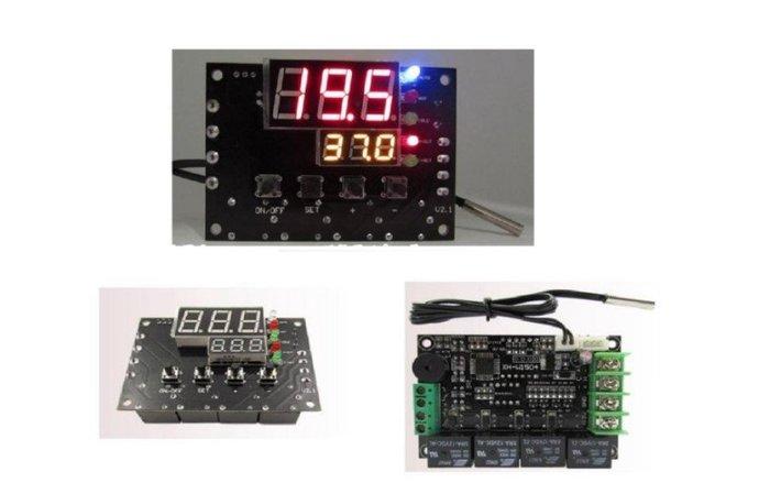 DC12V 制冷晶片專用冷熱自動切換溫度控制器(可正負電切換,達到製冷晶片冷熱功能)