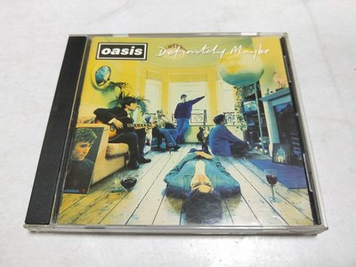 昀嫣音樂(CD115) OASIS/ DEFINITELY MAYBE 綠洲合唱團 絕對可能 保存如圖 售出不退