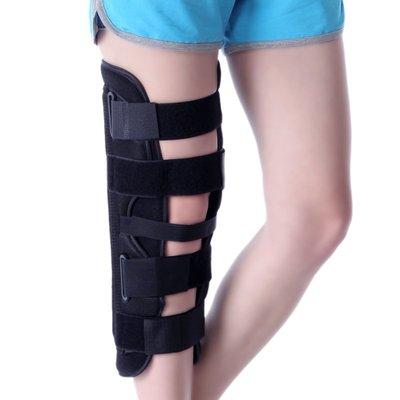 預售款-LKQJD-膝關節支具腿部固定支架護具膝蓋下肢夾板護具