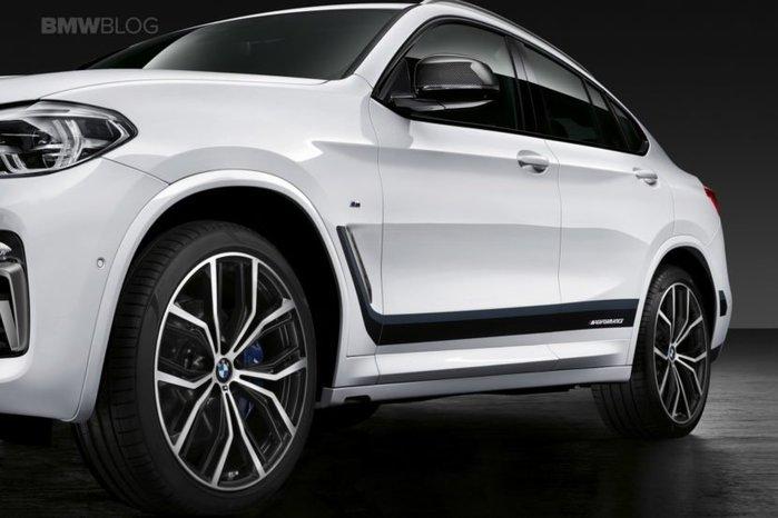 【樂駒】BMW G02 X4  原廠 M Performance 車身貼 改裝 精品 空力 貼紙  加裝 套件