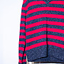 Dolce & Gabbana striped long-sleeved wool sweater. 長袖 毛衣 羊毛衣 條紋 杜嘉班納