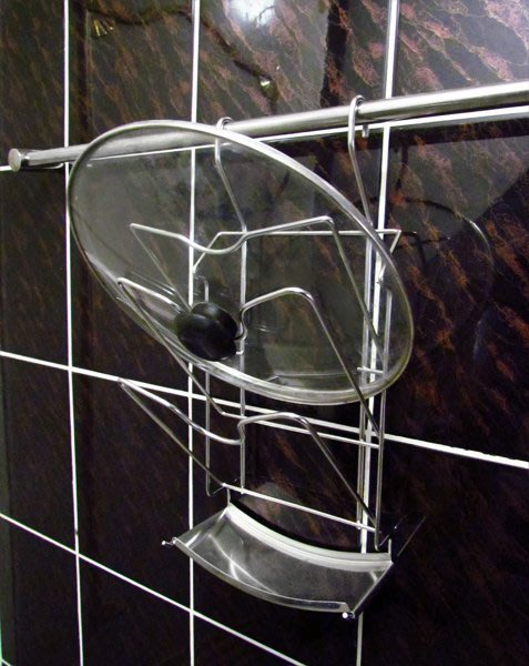 ☆成志金屬☆ S-41-2F #304不銹鋼豪華款大鍋蓋架附集水盤, 可配掛桿使用,可掛弧型炒菜鍋蓋