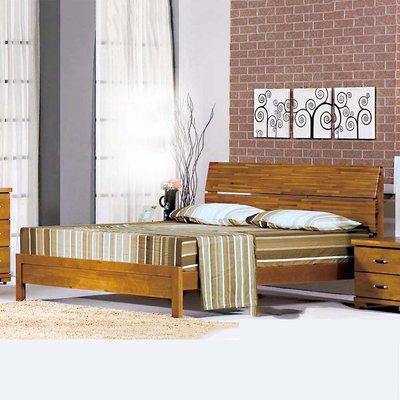 【優比傢俱生活館】20 簡單購-風尚香檜全實木5尺雙人床台/床架 LC162-1