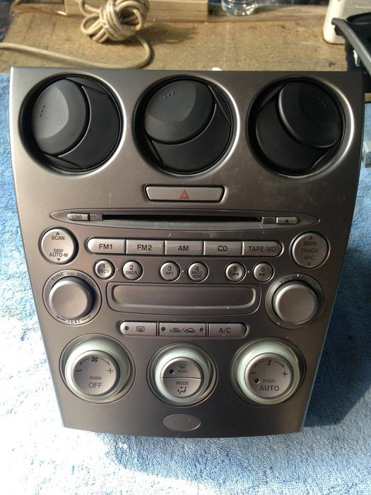 MAZDA 6 2.0 2.3原廠冷氣面板+音響主機 功能正常 $3000 音06