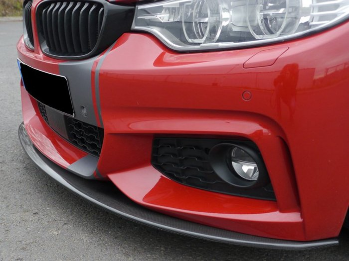 【樂駒】RIEGER BMW F32 F33 F36 carbon splitter M-Technic 前擾流 碳纖維