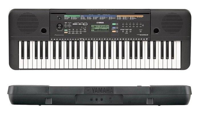 『高雄名人樂器』山葉 YAMAHA 電子琴 PSR-E253 保固一年 送琴架+防塵套+LED譜燈+免運