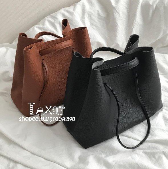 新款女包包韓國人氣復古大包包子母包簡約手提單肩女包