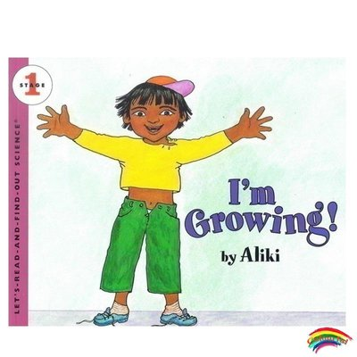 I'm Growing Let's Read and Findl Out L1我長大了英文繪本Aliki
