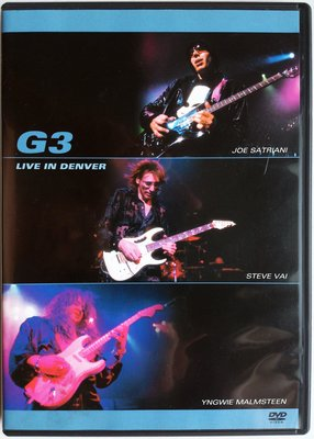 DVD/ G3 Live In Denver 二手亞版