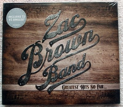 ◎2014全新CD未拆!14首-柴克布朗樂團-精選Greatest Hits So Far Zac Brown Band