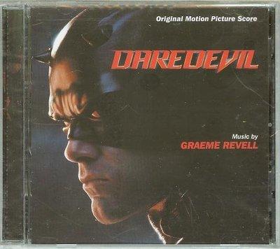 """[原聲帶]-""""夜魔俠-配樂版(Daredevil)""""- Graeme Revell(12),全新美版"""