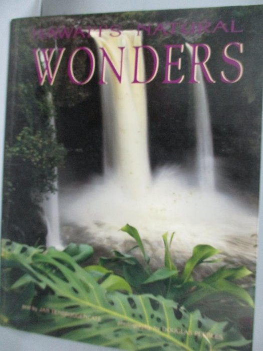 【書寶二手書T5/地理_XFQ】Hawaii's Natural Wonders_Tenbruggencate