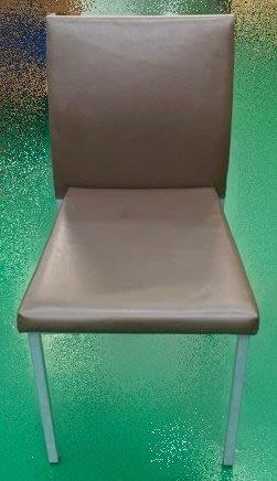 台中二手家具買賣推薦大里宏品全新中古傢俱 F51760*咖啡皮餐椅*新竹實木泡茶桌椅 會議桌椅 台北桃園南投