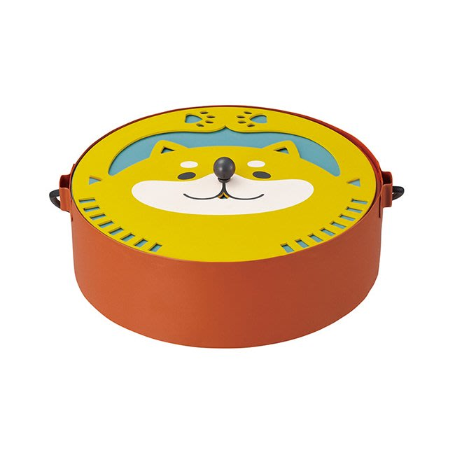 蚊香檯 柴犬 造型 鐵製 旋蓋式 蚊香 坐檯 正版日本進口授權