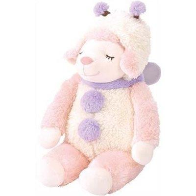 微笑安眠蝴蝶綿羊玩偶  非常療癒 抱起來好暖心啊~