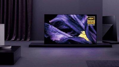 ☎【來電享便宜】SONY【KD-55A9G】55吋4K HDR OLED液晶電視顯示器 另售KD-55X8500G