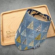 臨邊壓線 不易變形 手作圍兜.口水巾.吐奶巾.彌月禮 布頭巾 大地風 森林 樹木
