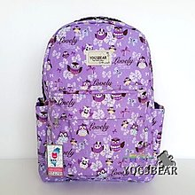 【YOGSBEAR】台灣製造 O 大容量 防水 耐重 後背包 休閒包 背包 書包 電腦包 媽媽包 YG10
