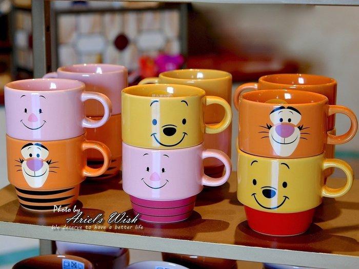 Ariel's Wish預購-日本Diseny東京迪士尼樂園限定發售款-小熊維尼winnie小豬跳跳虎兒童飲料杯水杯杯子