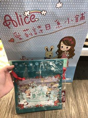 ☆愛莉詩☆日本帶回-迪士尼聖誕限定束口袋 有現貨  尺寸:23.4*19.8cm $666